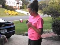 Clipul zilei. Un iepure eliberat de o femeie este insfacat la scurt timp de un soim. VIDEO