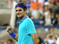 Roger Federer a uimit publicul de la US Open cu o lovitura de maestru. A fost aplaudat chiar si de Michael Jordan. VIDEO