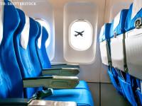 Cat de uman e sa zbori cu avionul cand pasagerii se bat din cauza spatiului tot mai mic. Analiza celor mai populare companii