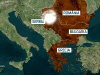 Mii de romani, afectati de ploile violente din Thassos, aduse de un ciclon mediteranean.