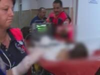 Mama banuita ca si-a snopit in bataie fiul de 2 ani. Tanara si iubitul ei, cercetati dupa ce copilul a ajuns la spital