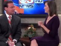 Un prezentator TV din SUA a anuntat in direct ca are cancer la creier.