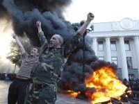 Criza in Ucraina. Ciocniri intre manifestanti si politie in fata Parlamentului de la Kiev