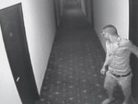 Hot surprins de camerele de supraveghere ale unui hotel din Mamaia. Prada cu care a reusit sa plece
