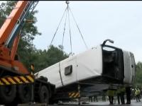 Soferul autocarului implicat in accidentul din Bulgaria, eliberat si trimis acasa. Primele date din ancheta