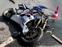 Accident grav in apropiere de Bucuresti, dupa ce o caruta a aparut brusc in fata unei motociclete. Doi oameni au fost raniti