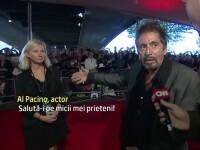 Al Pacino si iubita cu 40 de ani mai tanara, prezenti la Londra. Actorul isi promoveaza doua filme despre Salomeea