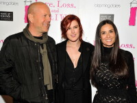Rumer, fiica lui Bruce Willis si Demi Moore, implicata intr-un accident cu un taxi.