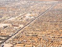 Cel mai deprimant oras de pe planeta. Imagini cu tabara de refugiati care a devenit al 5-lea oras ca marime din Iordania