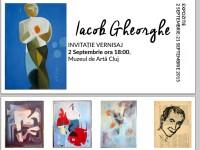 Expozitie Aniversara la Muzeul de Arta din Cluj. Pictorul Gheorghe Iacob isi prezinta peste 90 de opere