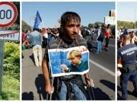 Marsul refugiatilor. Guvernul Ungariei se ofera sa transporte mii de migranti cu autobuzele pana la frontiera cu Austria