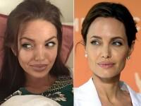 Asemanarea dintre ea si Angelina Jolie este incredibila. Cine e femeia despre care lumea spune ca e sora geamana a actritei