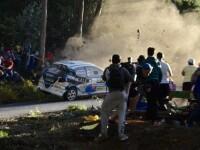Imagini SOCANTE. 6 persoane au murit si alte 16 sunt in stare grava, dupa ce un sofer a pierdut controlul volanului la raliu