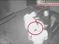 Scandal de proportii intr-un club din Baia Mare, surprins de camere. Un bodyguard a fost atacat cu cutitul