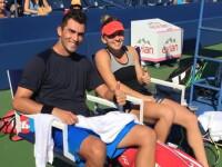 Simona Halep si Horia Tecau, calificati in sferturile probei de dublu mixt la US Open. Cec-ul incasat de cei doi