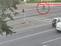 Un biciclist din Buzau a ajuns in stare grava la spital, dupa ce a fost lovit de un sofer. Accidentul a fost filmat