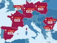 Reuters: Noua cota de imigranti a Romaniei, 6.351. Ponta cere solidaritate cu Europa, dar spune ca putem primi doar 1.500
