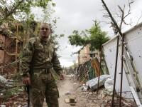 Trei soldati ucraineni, arestati in Crimeea de graniceri rusi, dupa ce au venit sa