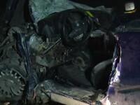 Doi oameni au murit intr-un cumplit accident, pe DN1. Soferul unui autocar a intrat intr-o depasire imprudenta