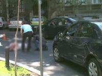 O femeie de 100 de ani, lovita in plin in timp ce traversa fara se se asigure, in Capitala. Dupa cat timp a venit ambulanta