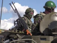 10.000 de soldati si tancuri antiaeriene. Unul dintre cele mai mari exercitii militare din ultimii ani are loc in 5 judete