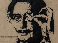 Omul care aduce cartea: Salvador Dali, \