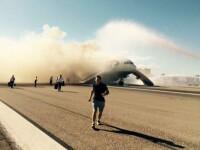 Unul dintre jurnalistii de la The Guardian, despre experienta traita in avionul care a luat foc: