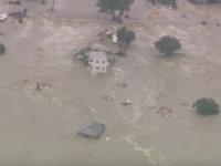 Inundatii devastatoare in Japonia, in urma ploilor torentiale. 90.000 de persoane si-au parasit locuintele. VIDEO