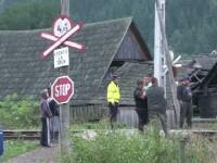 Impact fatal pentru un barbat, care n-a vazut trenul din cauza vegetatiei crescute. Oamenii spun ca locul e foarte periculos