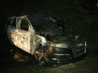 O masina de lux s-a facut scrum la Timisoara. Ce au observat pompierii cand au vrut sa se uite la numarul de inmatriculare