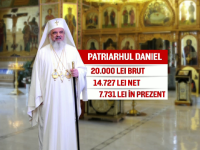 Patriarhul Daniel ar putea primi salariu dublu de la stat. Lefurile prevazute intr-un proiect de lege al demnitarilor