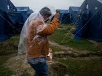 Fotoreportaj. Tabara de la Kanjiza, ultimul popas al refugiatilor inainte de teritoriul ostil al Ungariei
