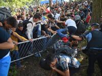 Imigrantii au rupt barajul politiei croate si au luat cu asalt un tren. Presedintele cere Armatei sa fie pregatita
