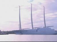 Cel mai mare iaht din lume a fost construit in Germania pentru un miliardar rus. Cum arata
