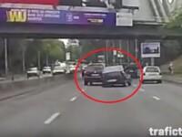 Micul mister al accidentului in care un Touareg loveste un Logan. Ce au declarat soferii celor doua masini in fata politiei
