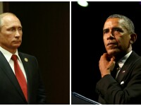 Siria, principalul subiect al intalnirii dintre Putin si Obama, la New York. Ce ii cer Statele Unite liderului de la Kremlin