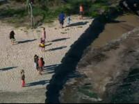Un camping din Australia a fost inghitit de un crater urias, peste noapte. Peste 100 de oameni au fost in pericol
