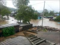 Furtuna tropicala in Rusia, in apropiere de un oras pe care il vizita Putin. Seful operatiunilor de salvare s-a inecat
