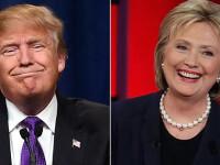 Noua rasturnare de situatie in cursa dintre Trump si Clinton pentru Casa Alba. Ce diferenta este intre cei doi