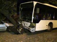 Un autobuz RATB a semanat teroare pe o strada din sectorul 5. Soferul sustine ca nu isi mai aminteste nimic
