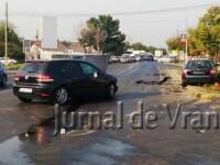 Primarul din Focsani, implicat intr-un accident rutier cu trei autoturisme. El a fost transportat la spital