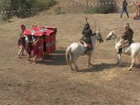 Dacii si romanii s-au luptat langa Galati. Sute de spectatori au venit la festival: