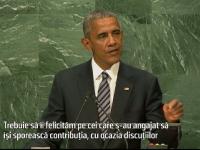Obama a felicitat statele care au acceptat sa primeasca mai multi refugiati. Anuntul premierului Dacian Ciolos