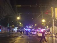 Explozie puternica in centrul capitalei Budapesta. Doi politisti au fost raniti. FOTO
