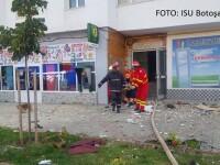 Cinci persoane, între care un copil de 11 ani, rănite în urma exploziei din Botoșani. Un apartament, distrus complet