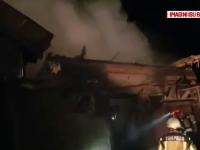 Incendiu violent într-o gospodărie din Bihor. Paguba se ridică la 20.000 de lei