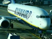 Gestul unul pasager Ryanair a alarmat autoritățile spaniole: a folosit ieșirea de urgență din dreptul aripii