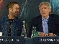 Harrison Ford și Ryan Gosling își promovează filmul