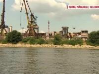 Cel mai urât port de pe Dunăre se află în România. Peisaj ca într-un film apocaliptic