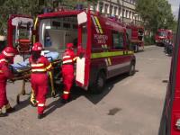 Simulare de incendiu la un spital de urgență din țară. Jandarmii au intervenit